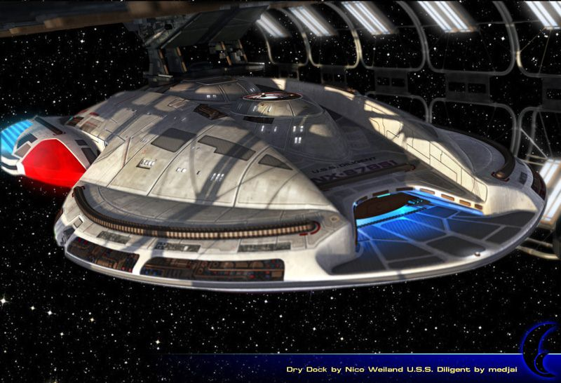 photo   star trek starship deck plans images  star trek